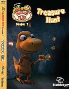 DVD CARTOON DINOSAUR TRAIN Treasure Hunt