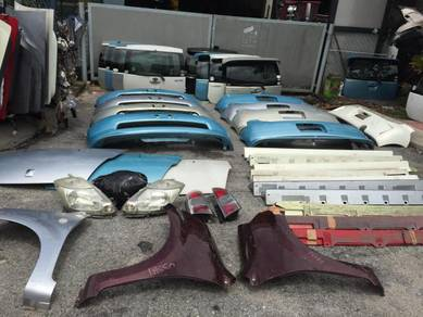 Passo 06 body parts front rear for myvi