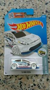 HotWheels '12 Ford Fiesta (white)