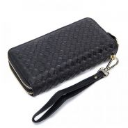 Men's Woven Genuine Leather Clutch Bag MAXMCP240