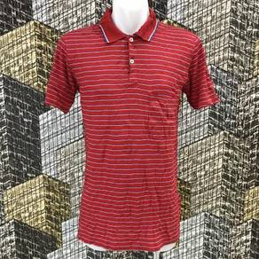 DUNHILL ITALY RED STRIPE vintage shirt size S