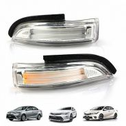 Camry Vios 2013 Side mirror light bar led welcome