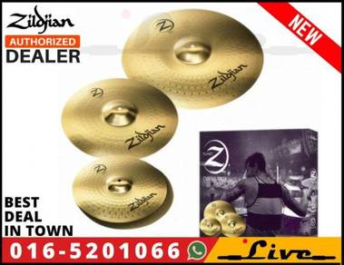 Zildjian PLZ4PK Planet Z Drum Cymbal Set