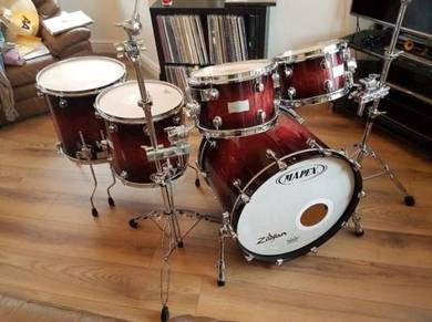 Maple Orion Maple Drum Kit With Cases