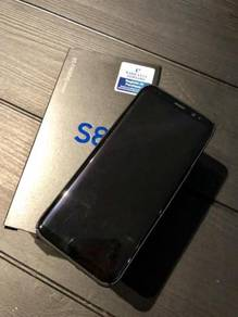 WTS Samsung S8 64GB Black. Warranty till May 2019
