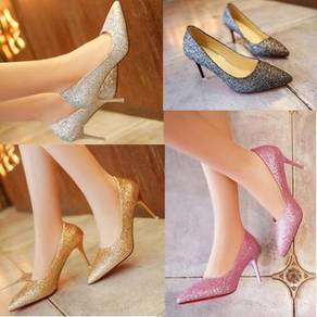 7921-A/B Sexy Women high heels pointed shoes
