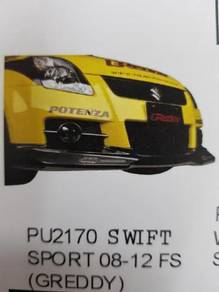 Suzuki swift sport 08-12 Greddy pu front skirt