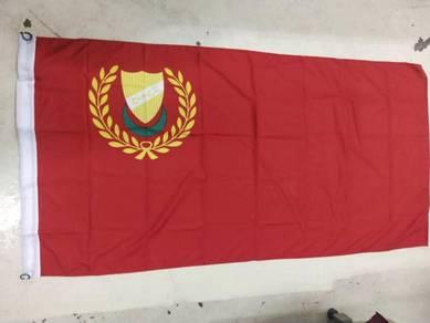 3' x 6' Bendera Kedah / Bendera Kelantan Woollen