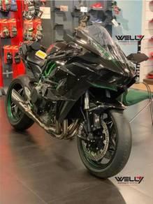 Kawasaki ninja h2r promotion free z125 pro