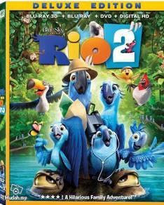 DVD ANIME RIO 2 Deluxe Version