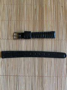 Hand Finish Lizard Leather Watch Strap 10mm