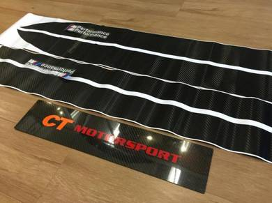 BMW F10 F30 Performance Carbon Side Skirt Sticker