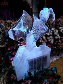 Ice Carving - Keris ( Ukiran Ais)