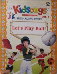 VCD Kidsongs Sing Along Let's Play Ball Vol.7
