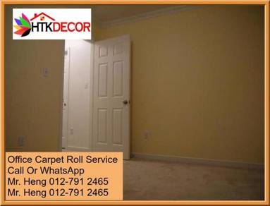 Classic Plain Design Carpet Roll with Install P7PB