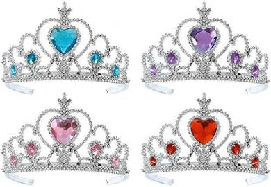 Princess Crown _Blue,Pink,Purple,red