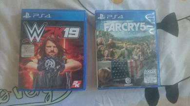 Ps4 farcry 5 + wwe