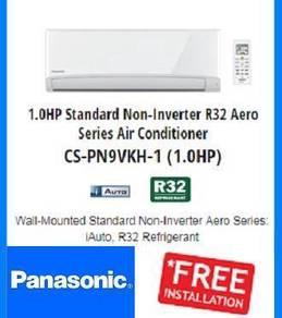 Aircond panasonic aero series 1hp r32