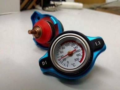 D1 radiator cap complete meter temp