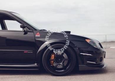 Subaru Impreza V8 V9 fender flare arch