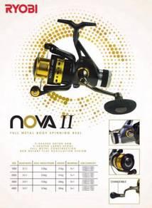 Ryobi Nova II 1000 - 4000 Fishing Reel Pancing
