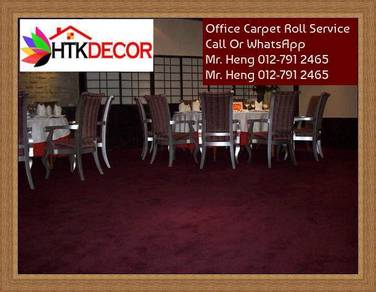 Plain Design Carpet Roll - with install 34y45h