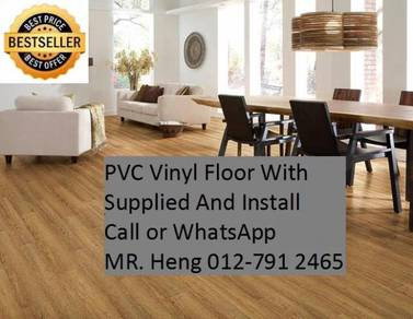 NEW Made Vinyl Floor with Install 3w4y35