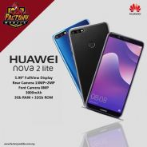 Huawei Nova 2 Lite [ 3+32gb ] 12 bulan jaminan