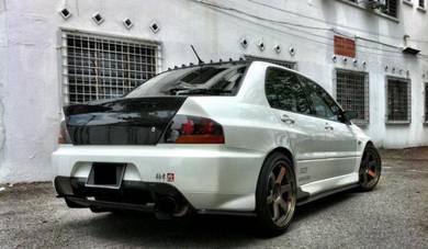 Lancer Evolution 9 Carbon Fiber Side & Rear Add On