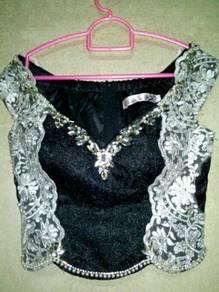 Corset Pengantin Indian Bridal Lehenga Choli Baju