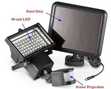 LED Solar Porch Spotlight Motion Sensor Outdoor