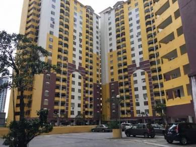 Lagoon Perdana Apartment 852sf Cash Back Sunway Pyramid 100% LOAN
