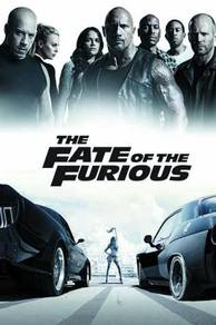 Poster FATE OF THE FURIOUS 8