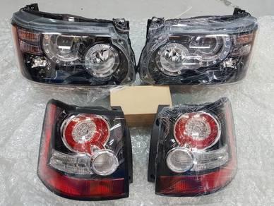 Range Rover Sport 2012 facelift Head lamp Taillamp