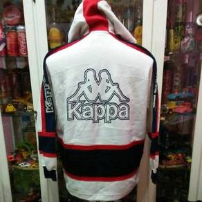 Vintage 90's Kappa Japan Big Logo White Red