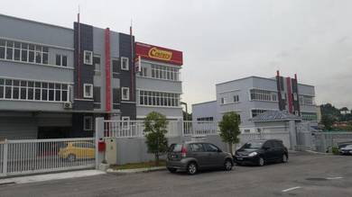 One industrial Park 3 storey Semi-D Factory in Balakong Jaya