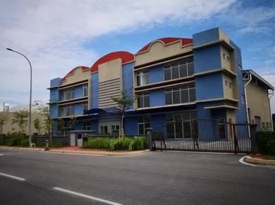 Deluxe 3 Storey Semi-Detached Factory for Sales at Bukit Angkat