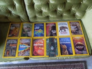 National Geographic Magazines 2009