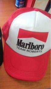 Marlboro Team Roberts Trucker Cap Topi