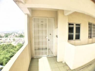 For sale : sri dahlia apartment taman sepakat kajang