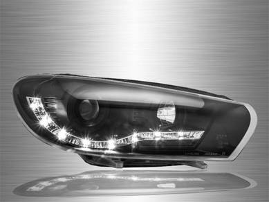 Scirocco Projector LED DRL Head Lamp 08-13