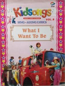 VCD Kidsongs Sing Along What I Want To Be Vol.8