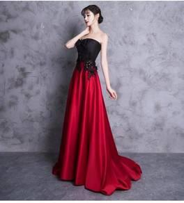Red black Wedding prom dress gown RBP0742
