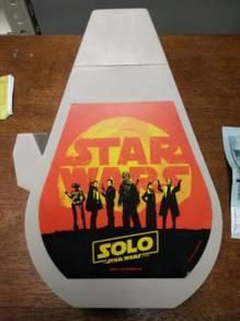 Star wars bekas minuman wayang