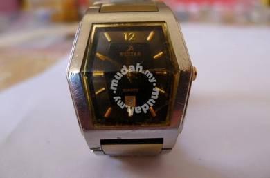 Westar Quartz Hexagon Watch