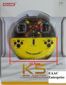 K5 Mini Pocket Drone 6cm 2.4G RC Quadcopter UFO