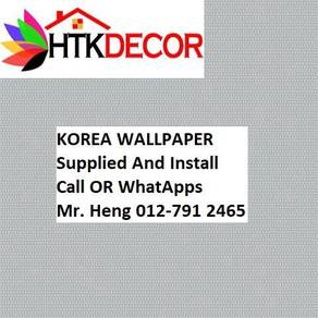 PVC Vinyl Wall paper with Expert Install 52PC