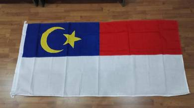 3' x 6' Bendera Melaka Woollen