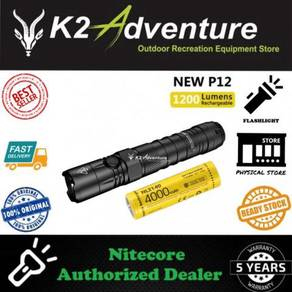 Nitecore new p12 1200 lumens flashlight