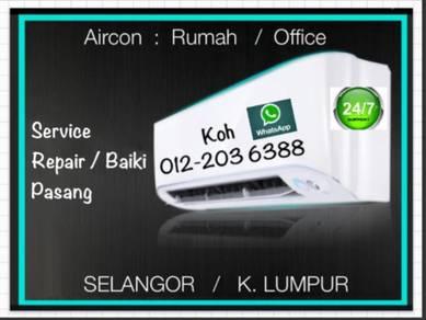 Aircond Servicing KL/SEL AIR CON / air cond